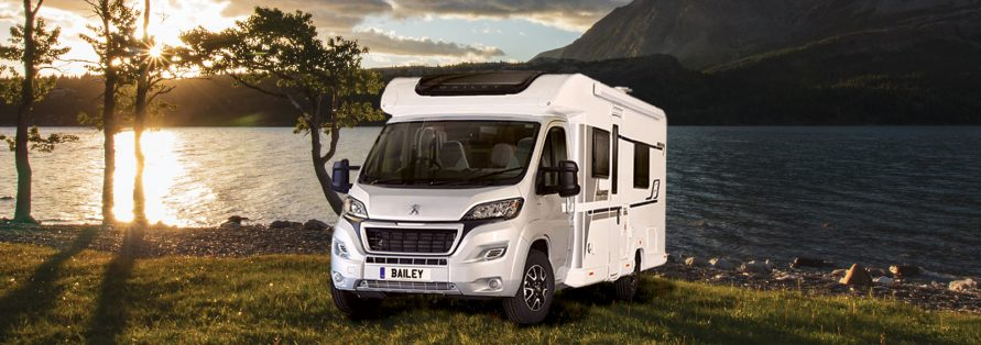 Luxury Motorhome – Bailey 4 Berth – Millie & Hugo